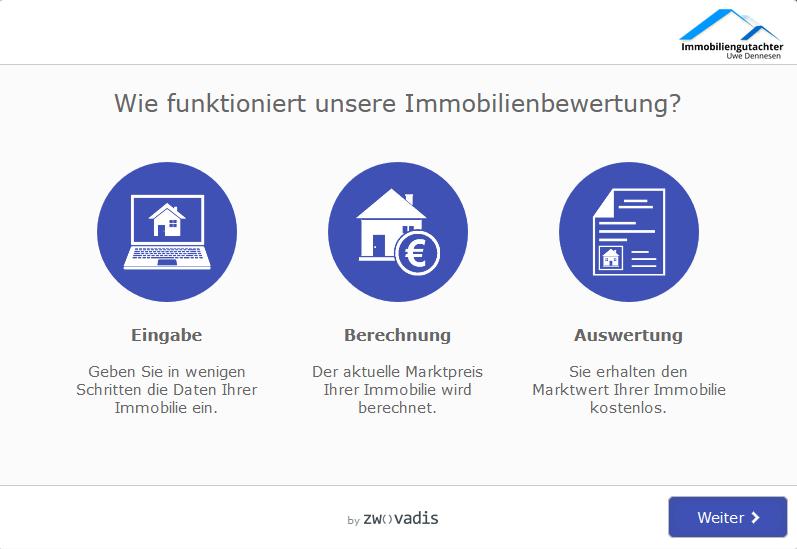 Online-Immobilienbewertung, Immobiliengutachter Uwe Dennesen